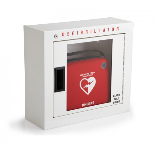 Wall Cabinet with AED