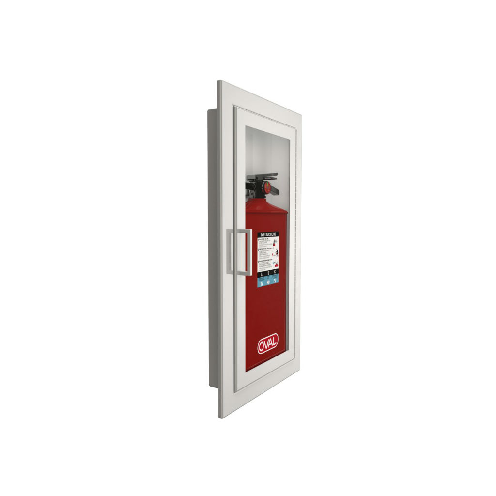 In Wall fire extinguisher cabinet
